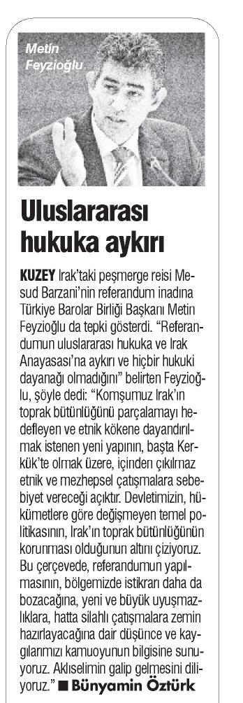 Türkiye'de Yeni Çağ, Uluslararası hukuka aykırı