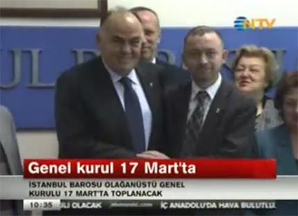NTV | İstanbul Barosunun G...