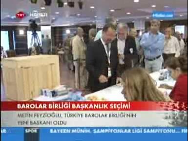 TRT Haber | Türkiye Barolar Birl...