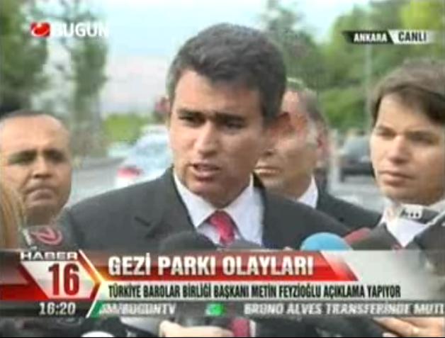 Bugün TV | TBB BAŞKANI METİN FE...