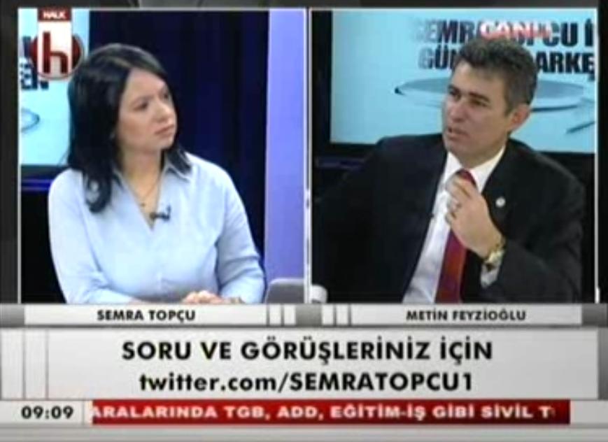 Halk TV | KONUK: METİN FEYZİOĞ...
