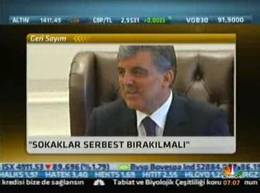 CNBC-e | CUMHURBAŞKANI GÜL, T...