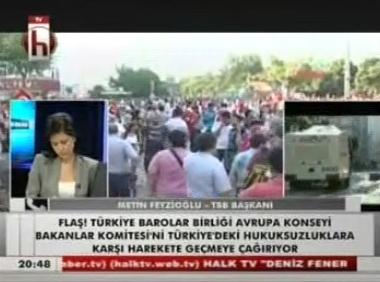 Halk TV | TAKSİM GEZİ PARKI'ND...