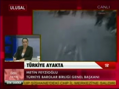 Ulusal Kanal | TAKSİM GEZİ PARKI'ND...