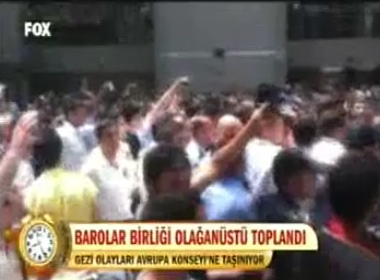 Fox TV | TÜRKİYE BAROLAR BİRL...