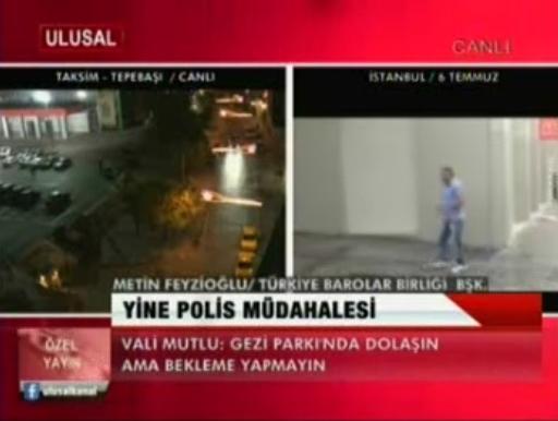 Ulusal Kanal | TAKSİM DAYANIŞMASI'N...