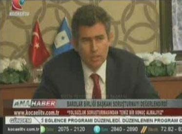 Kocaeli TV | TBB BAŞKANI METİN FE...