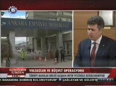 Kanal B | KONUK : TÜRKİYE BARO...