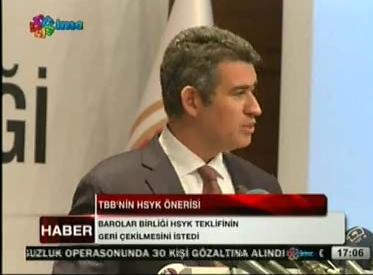 İMC TV | TBB TARAFINDAN HAKİM...