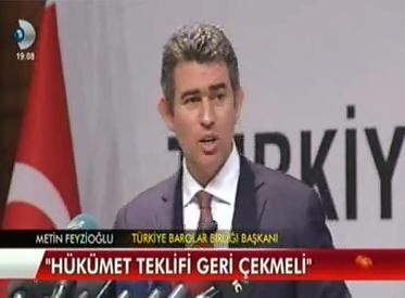 Kanal D | TBB BAŞKANI METİN FE...