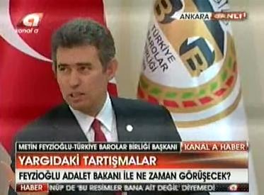Kanal A | TBB BAŞKANI METİN FE...