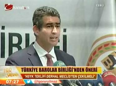 Kanaltürk | HSYK TEKLİFYLE İLGİL...