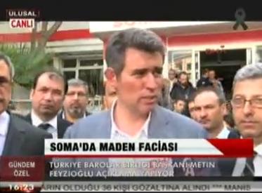Ulusal Kanal | TBB BAŞKANI METİN FE...