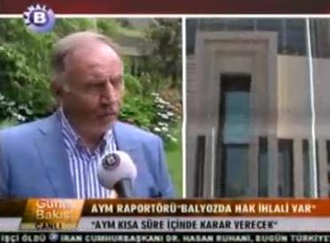 Kanal B | AYM RAPORTÖRÜ BALYOZ...