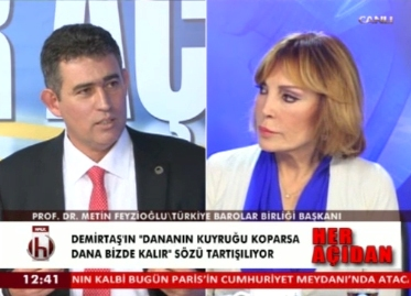 Halk TV | TBB BŞK.AV.PROF.DR.M...
