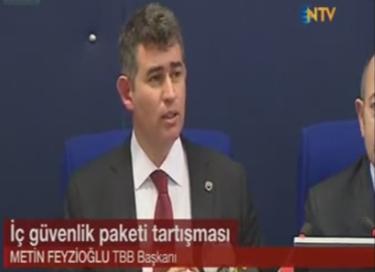 NTV | TBB BAŞKANI METİN FE...