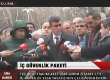 Ulusal Kanal | TBB HEYETİ MUHALEFET...