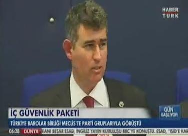 HaberTürk | TBB BAŞKANI METİN FE...