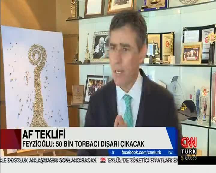 CNNTürk | AF TEKLİFİ - Feyzioğ...