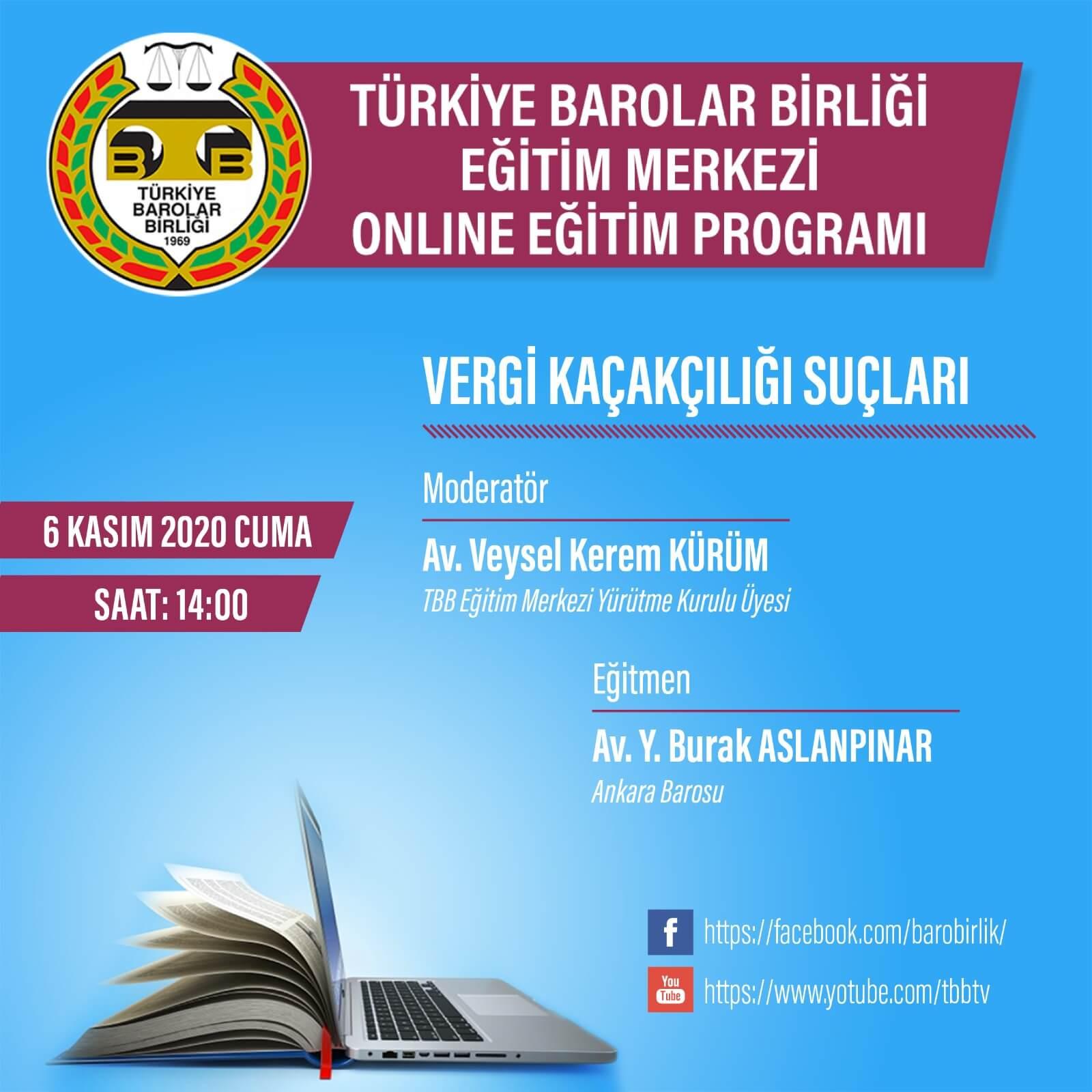 TBB Eğitim Merkezi Online Eğitim