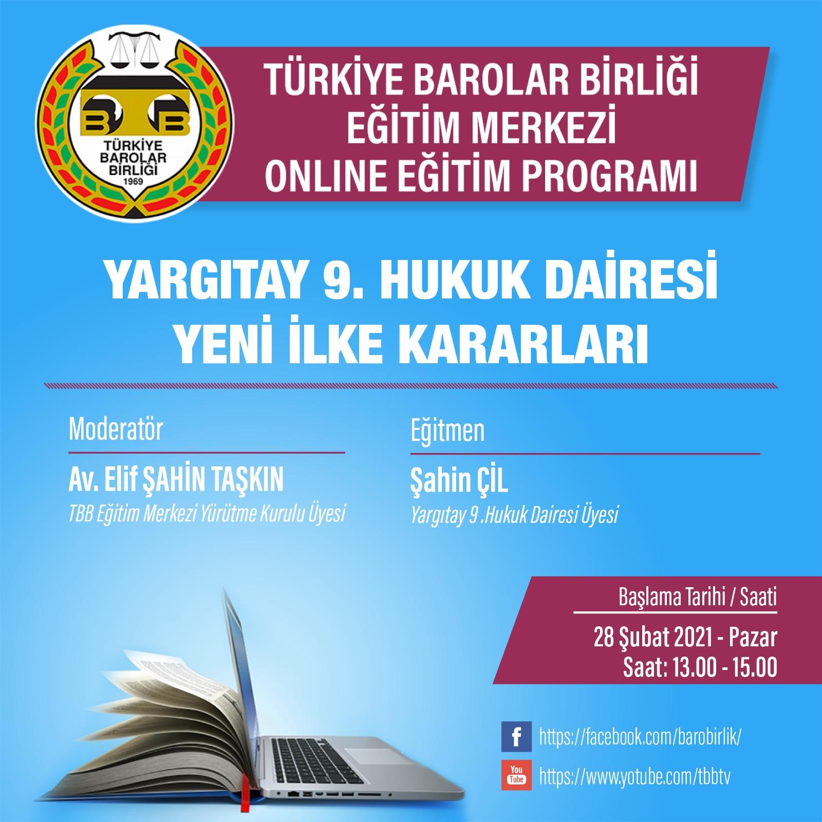 TBB Eğitim Merkezi Online Eğitim 28.02.2021