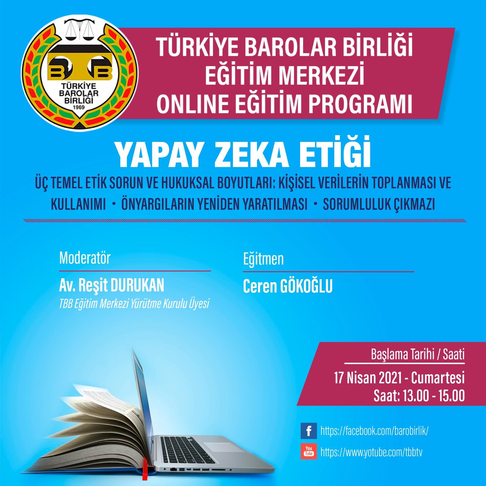 TBB Eğitim Merkezi Online Eğitim 17.04.2021