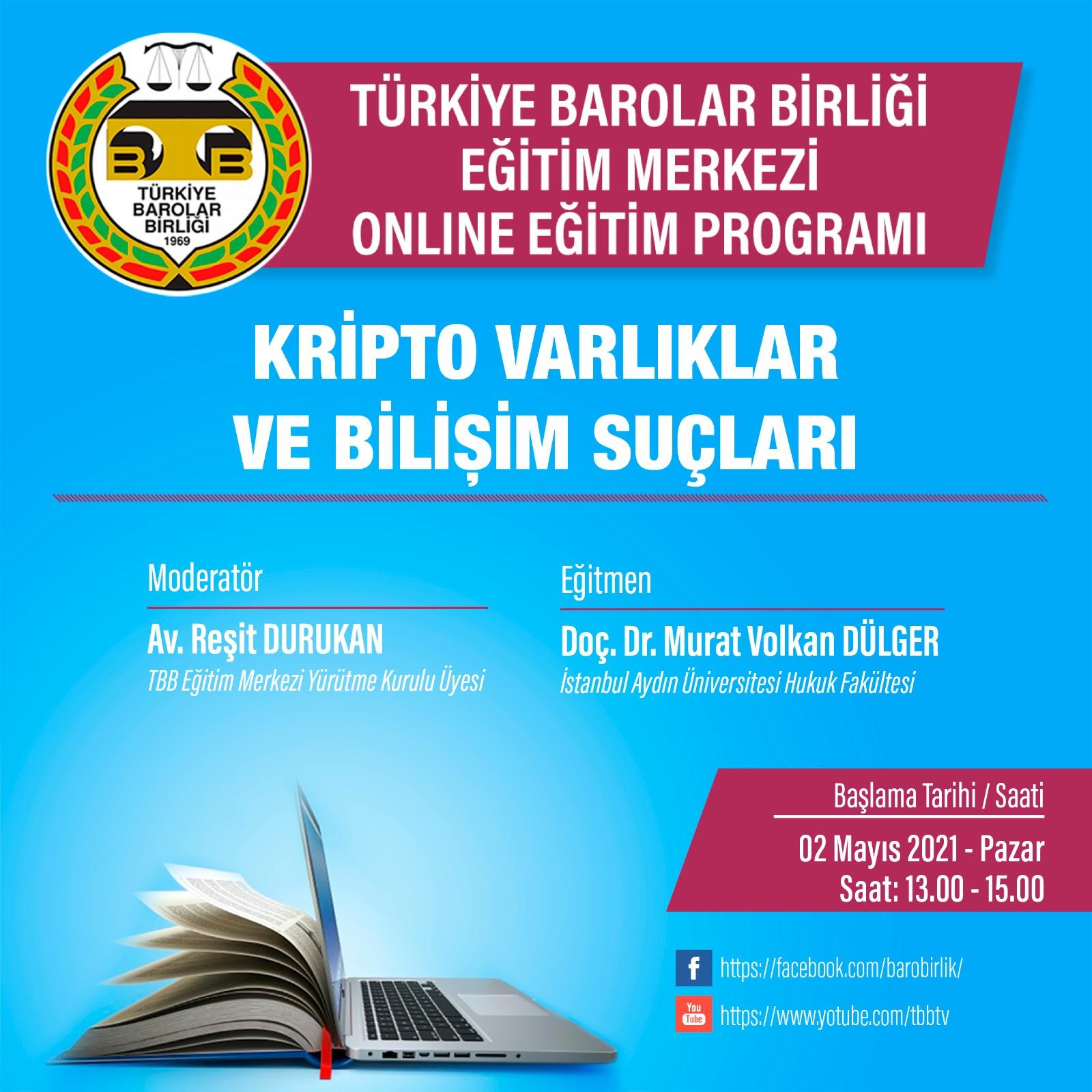 TBB Eğitim Merkezi Online Eğitim 02.05.2021