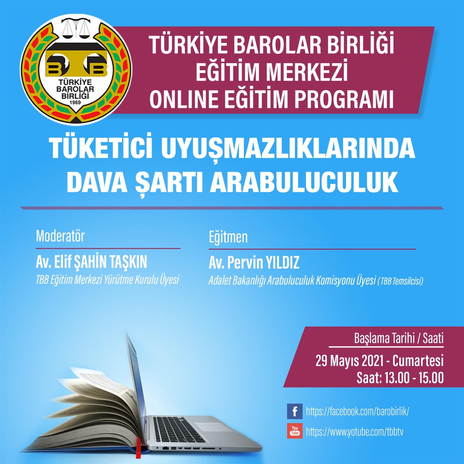 TBB Eğitim Merkezi Online Eğitim 29.05.2021