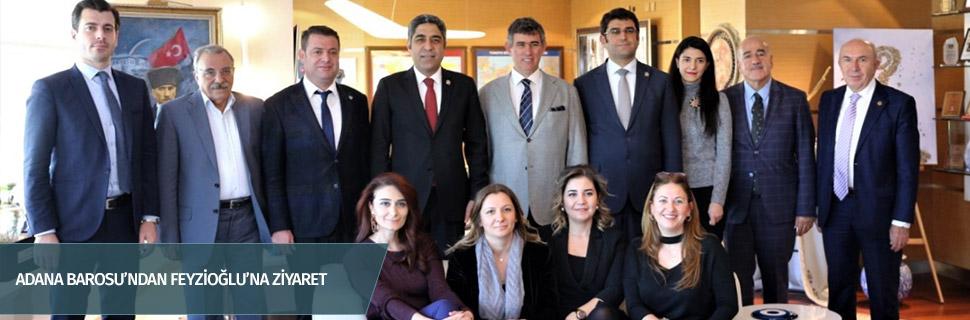 ADANA BAROSU'NDAN FEYZİOĞLU'NA ZİYARET