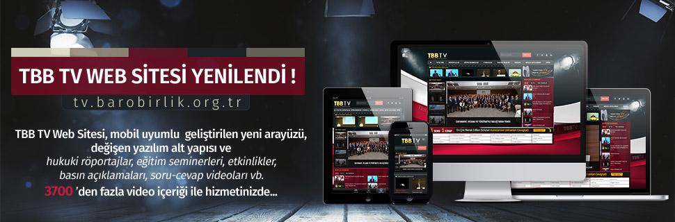 TBB TV Web Sitesi Yenilendi...