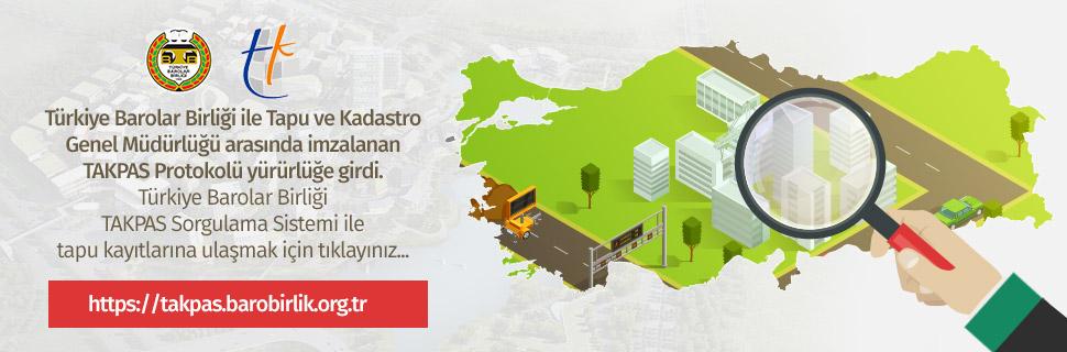Türkiye Barolar Birliği TAKPAS Sorgulama Sistemi