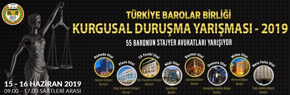 55 BARONUN STAJYER AVUKATLARI YARIŞIYOR