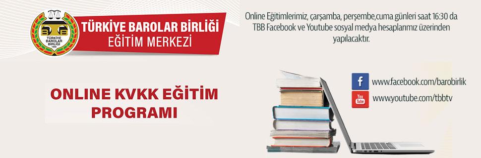 TBB Eğitim Merkezi Online KVKK Eğitim Programları 4.Hafta