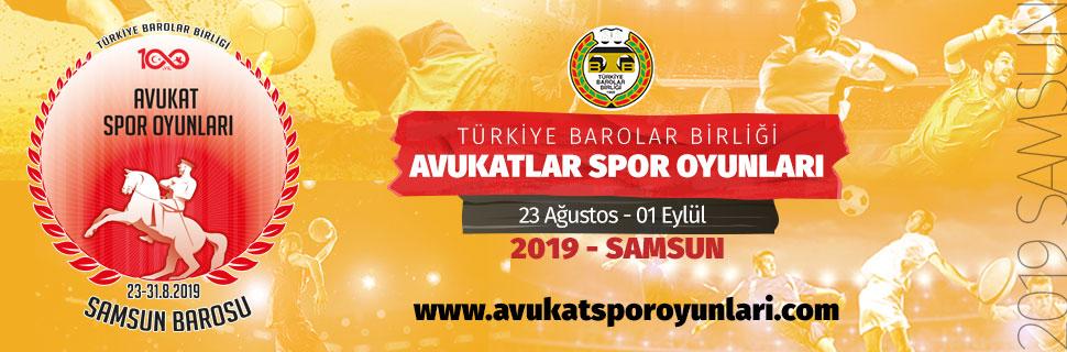 2019 Avukatlar Spor Oyunları - Samsun